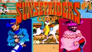 CORMANO!!!! - Sunset Riders (Co-op /w Cry) - Part 1
