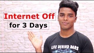 Internet OFF for 3 Days