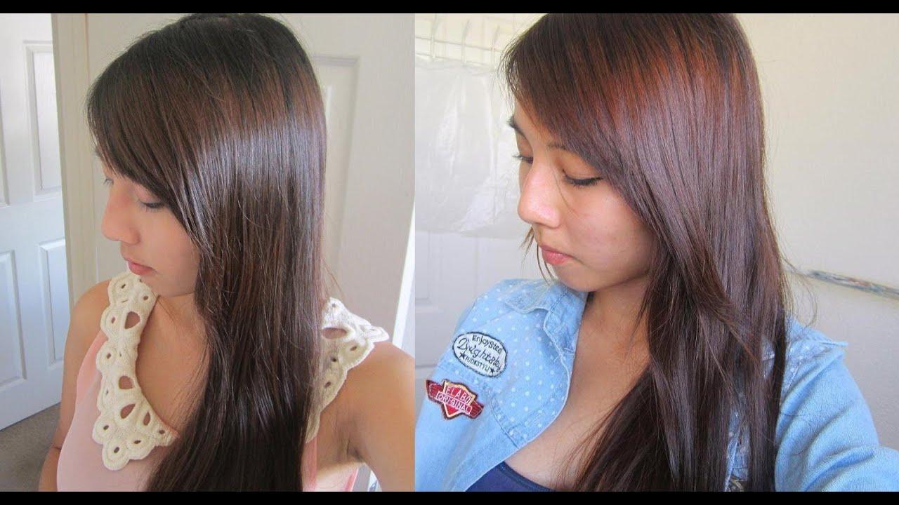 Liese Mocha Orange Bubble Hair Color Youtube