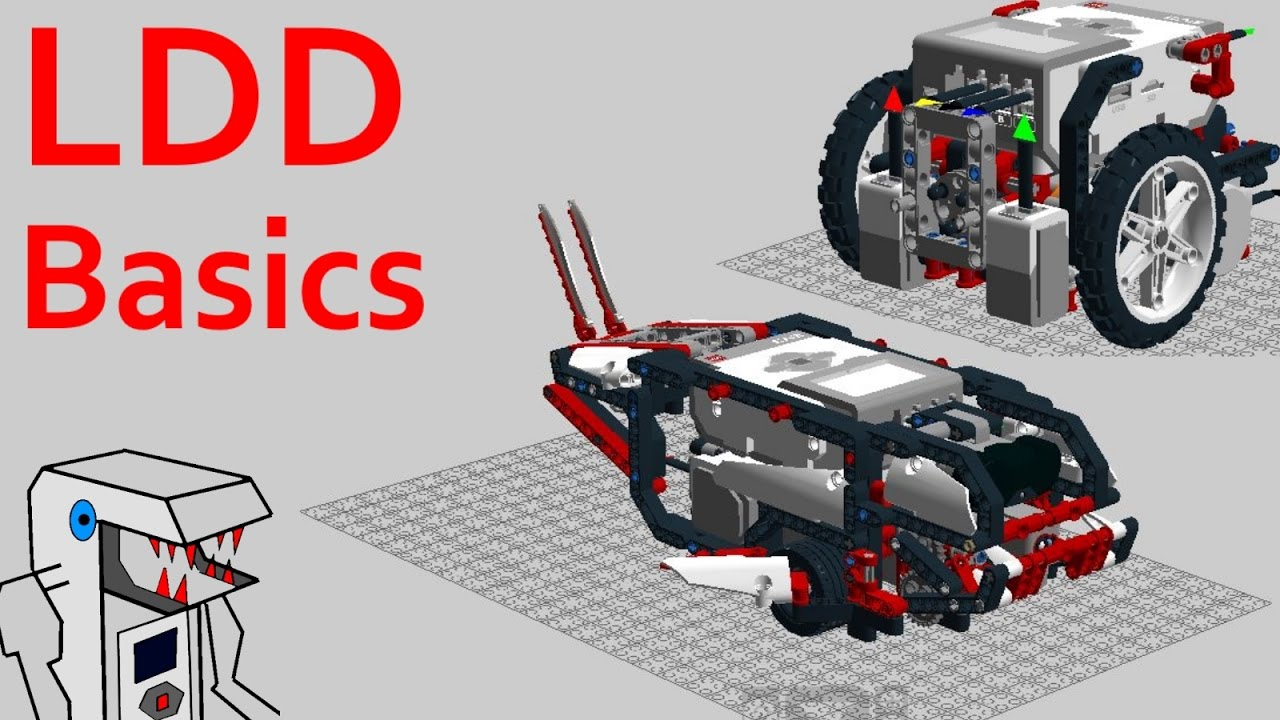 Ldd Basics Getting Started With Lego Digital Designer Youtube Electrical Wiring Pdf