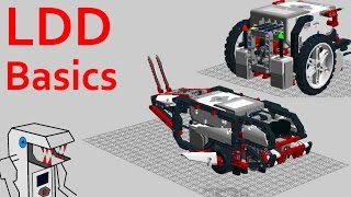 lDD Basics - Getting Started with LEGO Digital Designer