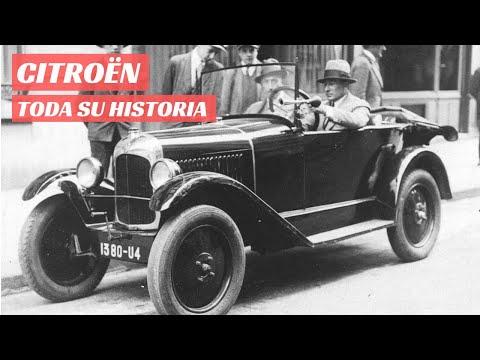 Historia de Citroën: Una marca innovadora