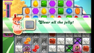 Candy Crush Saga Level 1444 walkthrough (no boosters)