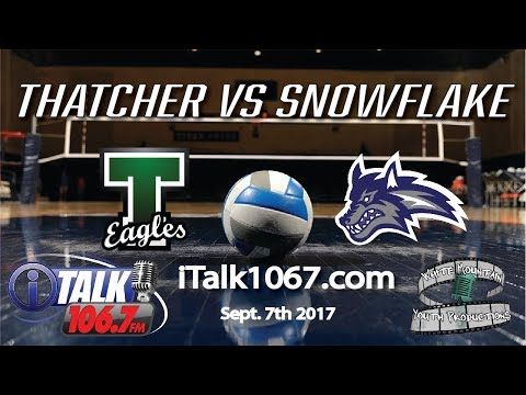 Thatcher vs Snowflake High School Volleyball Full Game Eagles vs Lobos