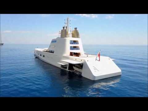 "Aqua Sky Media, Drone. Super Yacht ""A"" Monaco"