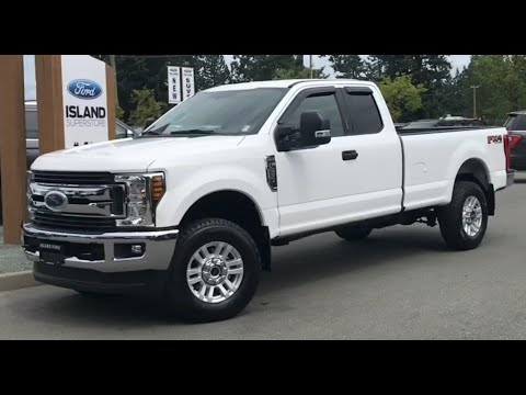 2019 Ford f-250 XLT 603A 6.2L SuperCab Review| Island Ford