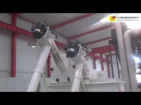 Video Horizontal chicken powder feed hammer milll and mixer,Contact Jack,WhatsApp 0086 13953480809