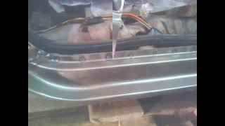 ремонт порогов на ниве шевроле