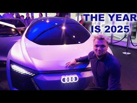 The Future of Self driving Level 5 Autonomous electric cars - The Audi Aicon