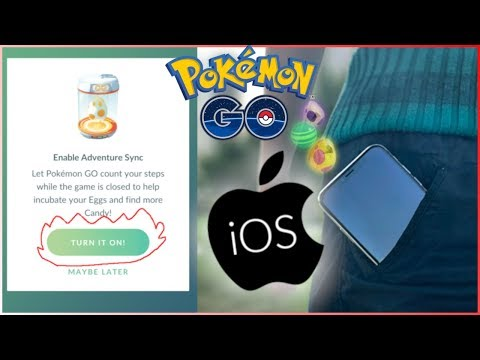 [OUT DATED] Pokemon Go Episode 45.5 (How to Setup Adventure Sync (iOS/Apple))