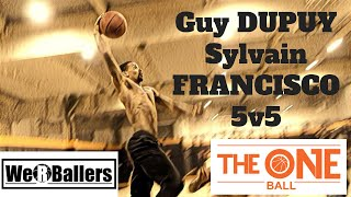 Guy Dupuy & Sylvain Francisco 5v5 at The One Ball 06/09/2018 by We R Ballers Video