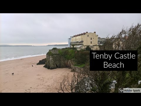 Travel Guide Tenby Castle Beach Pembrokeshire South Wales UK Pros And Cons Review