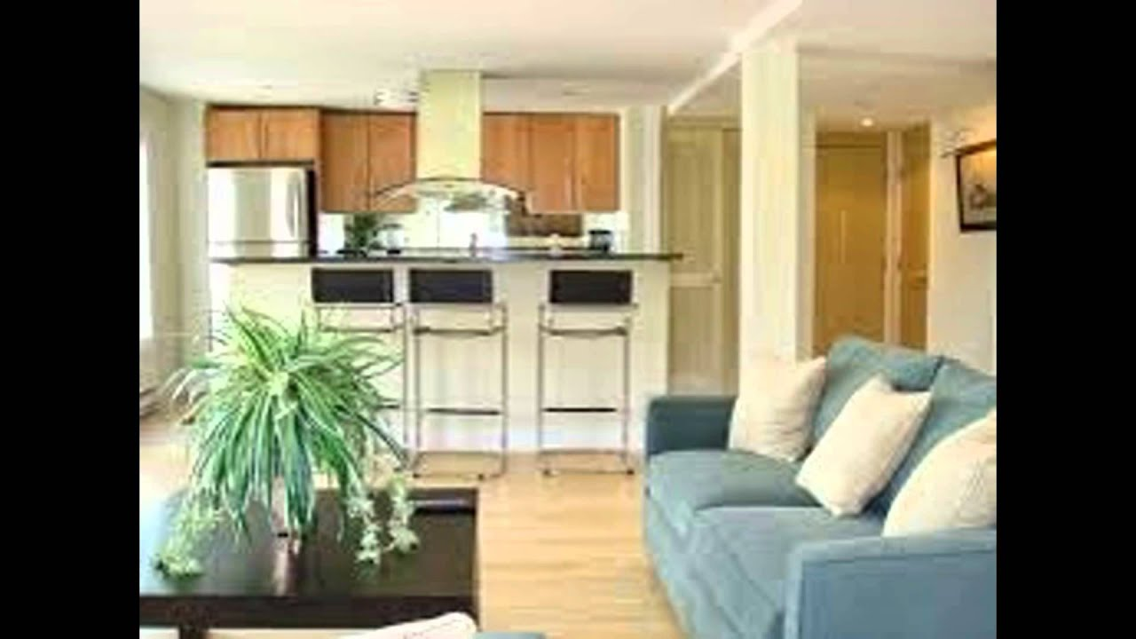 kitchen and living room design - youtube