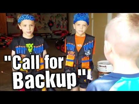 Nerf war: Call for Backup!