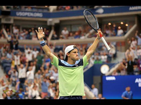 Alexander Zverev Vs Diego Schwartzman Extended Highlights   US Open 2019 R4