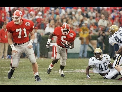 Classic Tailback - Garrison Hearst Georgia Highlights