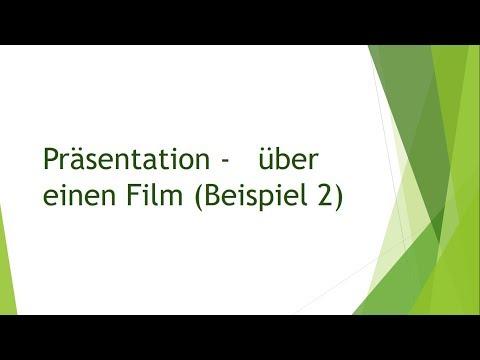prsentation ber einen film beispiel 2 mndliche prfung b2 telc - B2 Prufung Beispiel