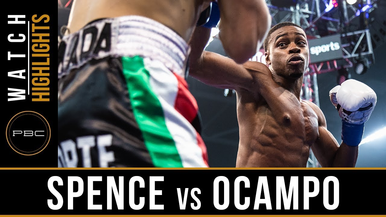 Spence vs Ocampo Highlights: PBC on Showtime - June 16, 2018