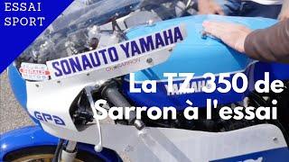Essai express et exclusif de la Yamaha TZ 350 de Christian Sarron