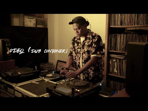 """ECHOES """"DJ"""" SESSIONS : ODEQ (DUB CONTAINER)"""