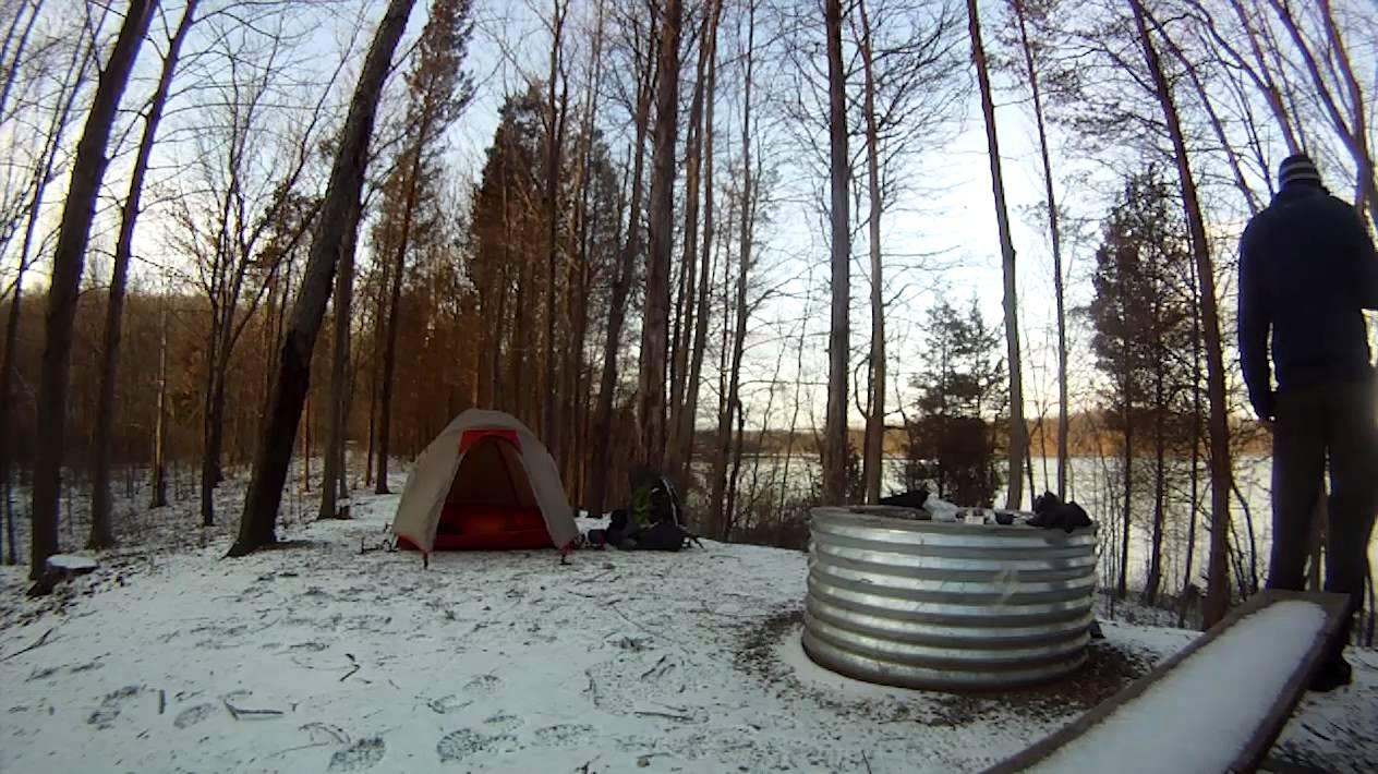 Blind Lake Camping Time Lapse Youtube