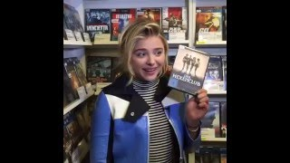 In The Video Store With Chloë Grace Moretz - April 26, 2016