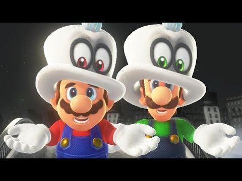 Super Mario Odyssey - Mario & Luigi Walkthrough Part 2