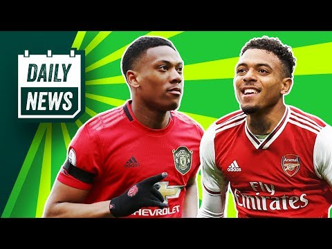 Arsenal to RE-SIGN Dutch wonderkid + Man United 2-0 Man City! ► Daily News - 동영상