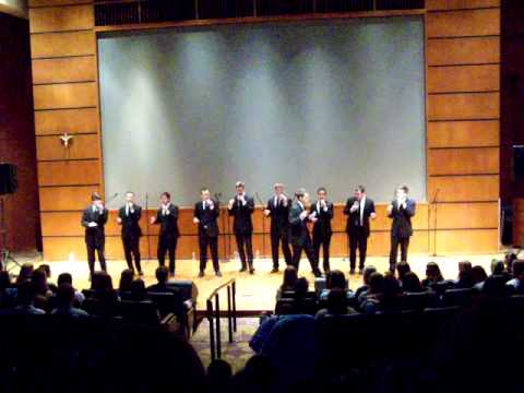 Straight No Chaser theme song, Indiana University's Straight No Chaser at Notre Dame, 022611