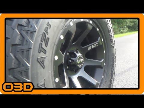 Mickey Thompson Baja ATZP3 and Metal Series MM-366 Review (Install)
