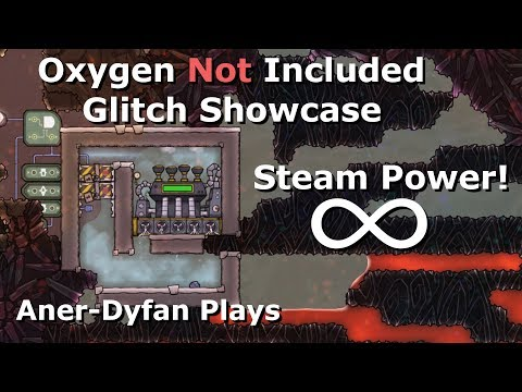 Oxygen Not Included: Glitch: Infinite Steam Power