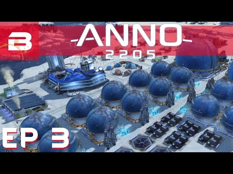 Anno 2205 - Arctic Kinngait Region - Ep 3 (Let's Play Gamepl