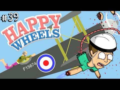"UN ""PILOTA"" SPERICOLATO!!  - Happy Wheels [Ep.39]"
