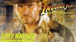 Indiana Jones: Greatest Adventures | Super Nintendo/Gameplay/Full HD | ❆ Weihnachts-Special ❆