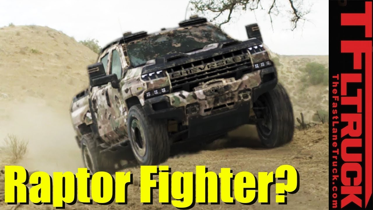Breaking News: Chevy Silverado ZH2 - Could It Be a Power ...