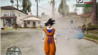 GTA San Andreas - Dragon Ball Mod