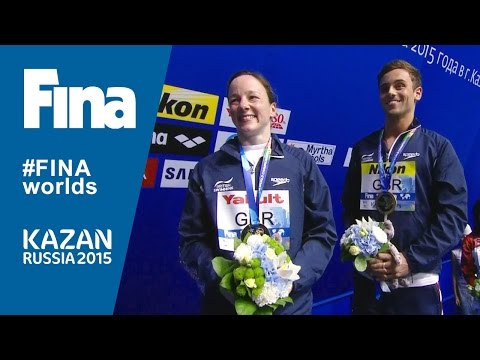 Kazan 2015 - Diving Team Event Highlight