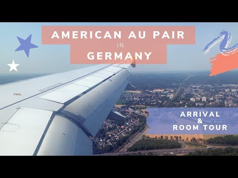 AMERICAN AU PAIR IN GERMANY 🇩🇪✈️〡ARRIVAL AND ROOM TOUR