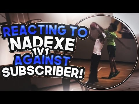 Nadexe vs 12 Year Old DRIBBLE GOD - MUST SEE Basketball