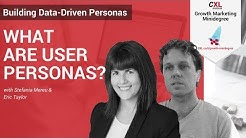 What are User Personas?  | CXL Institute UX Personas Microlesson