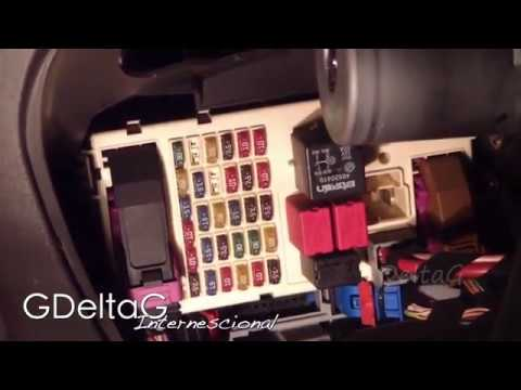 fiat punto mk2 how to replace fuses - youtube  youtube