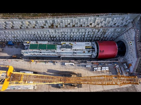 Eppenberg SBB Railway Tunnel - From installation to the breakthrough
