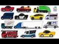 Aprenda veículos de rua | Veículos De Rua Para Crianças | Vídeos de carro para crianças