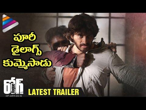 Puri Jagannadh Mark Punch Dialogues   Rogue Telugu Movie Trailer   Ishan   Mannara   Angela