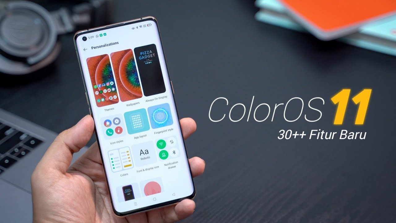 ColorOS 11 Review : Makin Seru dan Gampang di Kustomisasi