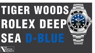 The Watch Report | Tiger Woods Rolex Deepsea Sea-Dweller, MB&F Horological Machine, and More!