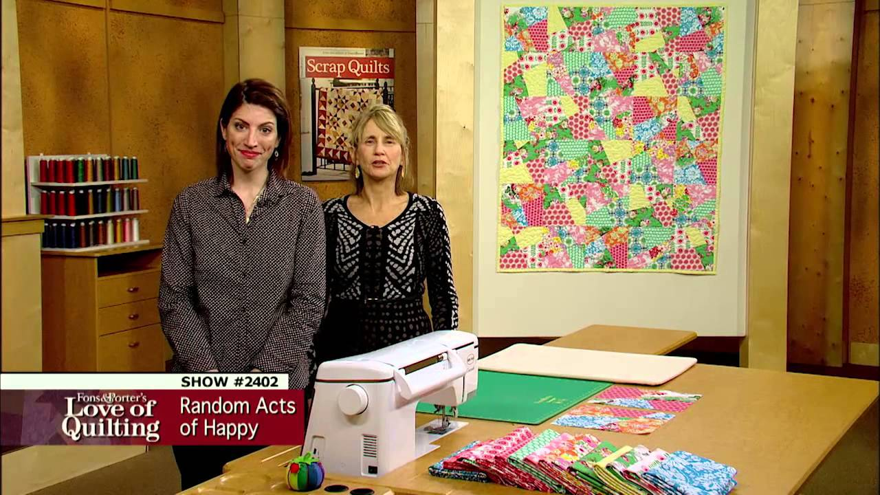 Love Of Quilting How To Make A Crazy Quiltupdated Random Acts
