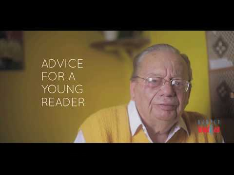 Video: On his 85th birthday, Ruskin Bond recounts anecdotes on reading as a child