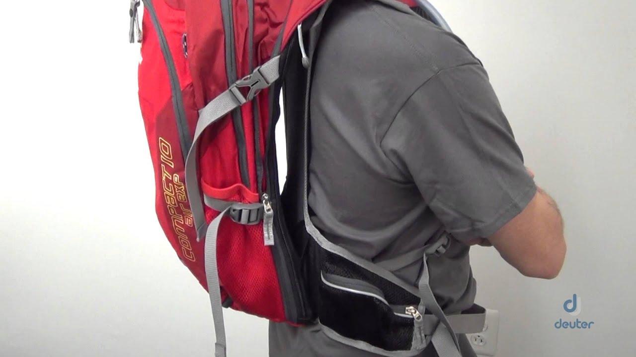 Рюкзак deuter compact exp15 большой рюкзак-игрушка