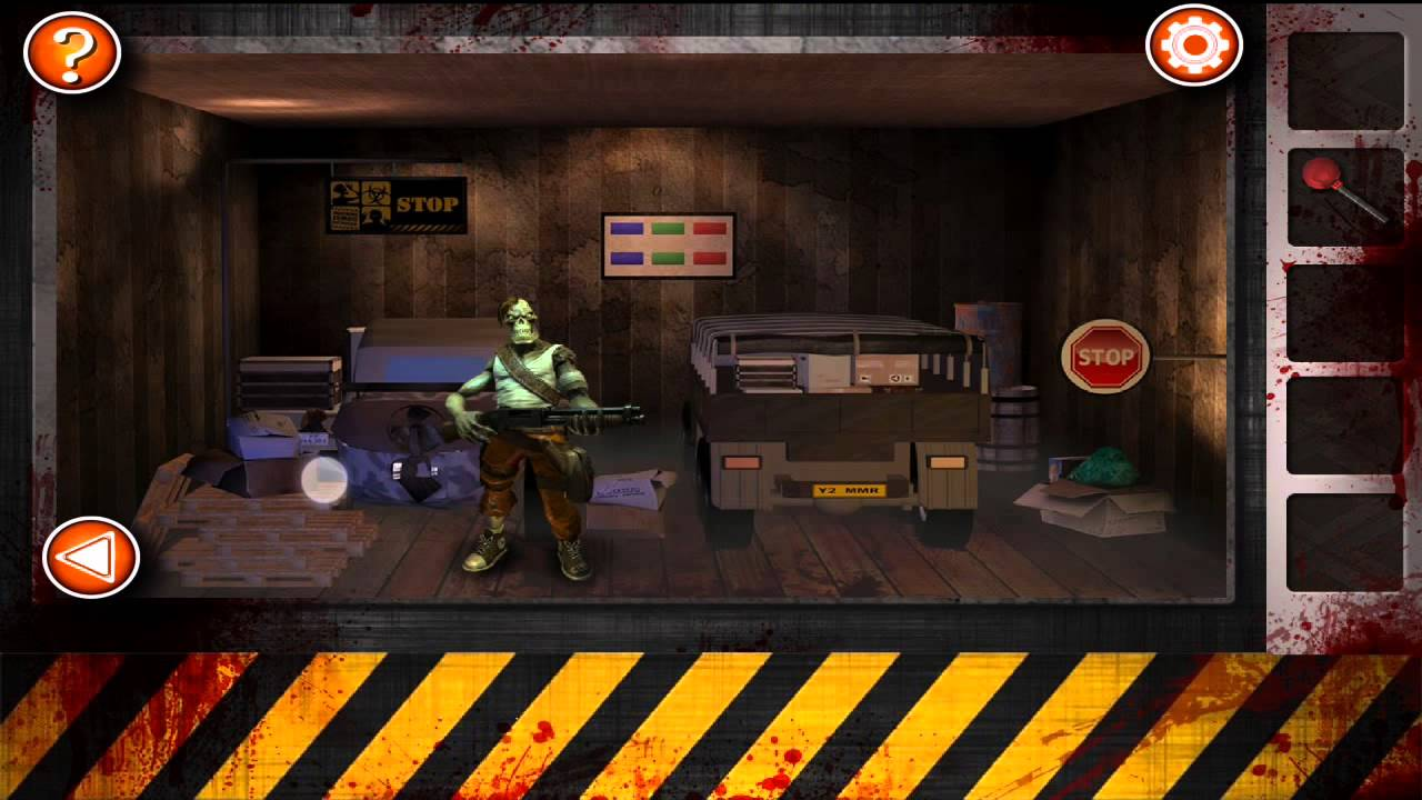 Escape the room zombies level 10 walkthrough youtube for Small room escape 6 walkthrough